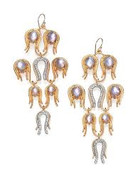 white gold chandelier earrings alexis bittar aigrette mother of pearl doublet crystal chandelier