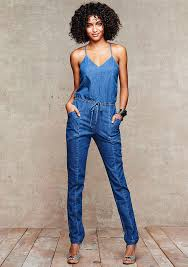 sleeveless denim jumpsuit denim jumpsuit where to buy how to wear