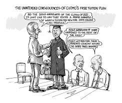 ed chorba u0027s political cartoon cuomo u0027s tuition plan the rockland