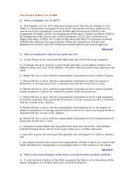 Child Support Contract Template Affidavit Solo Parent Parenting Relationships U0026 Parenting