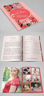 funeral program printing hibiscus funeral program design and printing