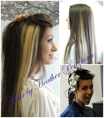 chunking highlights dark hair pictures image result for dying chunks of hair my style pinterest