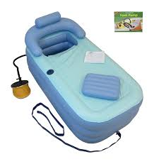 4ft Bathtubs Amazon Com Inflatable Bath Tub Bathtub Upgraded Pump X