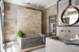 Designed Bathrooms Contemporary Bathroom Design With Verde Slate Stone Concrete Tub