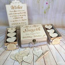 wedding wish book vintage rustic wedding wish box guest book alternative drop in box