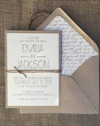 rustic chic wedding invitations rustic wedding invitation lace birch bark heart