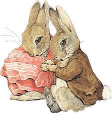 rabbit and benjamin bunny benjamin bunny and rabbit svgs silhouette