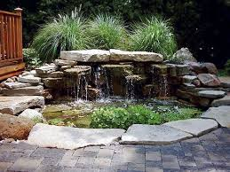 Small Backyard Ponds And Waterfalls by 246 Best Ponds U0026 Waterfalls Images On Pinterest Backyard Ponds