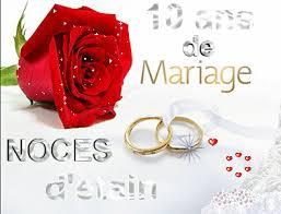 anniversaire mariage 10 ans 10 ans de mariage ca se fete les délices d hélène