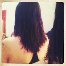 how to cut hair straight across in back does anyone do a v cut in the back gbcn
