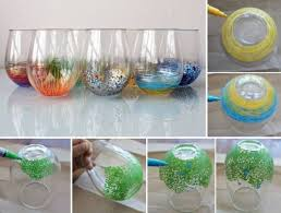 Home Design Diy Diy Colorful Vase Decor Home Design Garden U0026 Architecture Blog