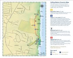 Walking Map Of New York City by Falling Waters Preserve Scenic Hudson