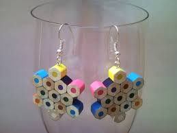 earrings ideas diy upcycled earring ideas recycled things