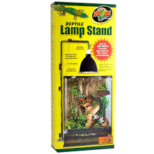 Reptile Heat Lamps Safety by Zoo Med Reptile Lamp Stand Large