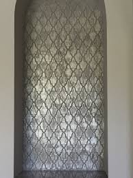 Decor 83 Large Moroccan Wall by Metallic Niche Background Decorative Finishes For Canvas Or