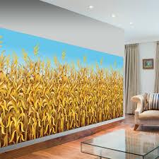 cornstalks plastic scene setter room roll