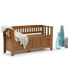 Storage Benche Wyndenhall Normandy Entryway Storage Bench Free Shipping Today