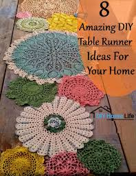 diy table runner ideas 8 amazing diy table runner ideas for your home diy home life