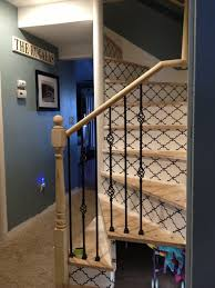 custom stairs wallpaper diy home decor u2013 pinsandpetals