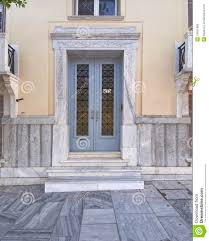 elegant neoclassical house door royalty free stock photo image