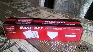 baseball home plate decor
