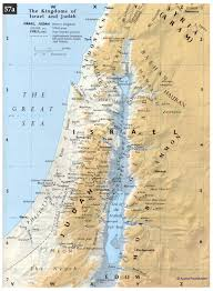 Map Of Isreal Bible Maps Precept Austin