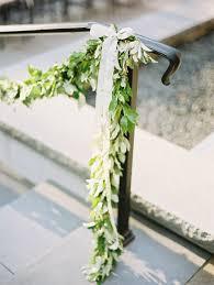 greenery garland greenery garland on stair railing greenery garland greenery and