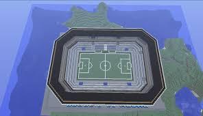 minecraft building ideas football soccer stadium minecraft