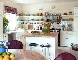 Open Shelf Kitchen Cabinet Ideas Open Shelving In A Bright Kitchen Decoist Open Cabinet Ideas