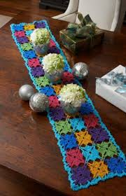 Crochet Home Decor Patterns Free 232 Best Crochet Table Runner Table Cloth Images On Pinterest