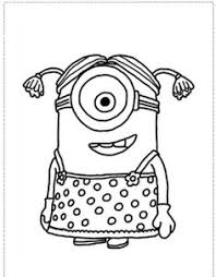 minion coloring 06 coloring free printable