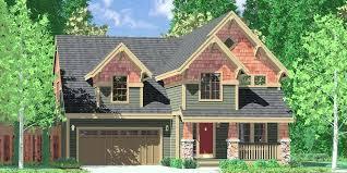 narrow lot houses plans narrow lot craftsman house plans