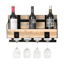 reclaimed wood wall wine rack vertical u2013 farmhome decor