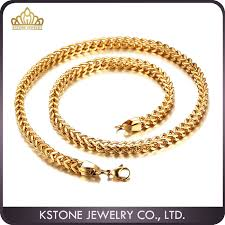 gold metal chain necklace images Kstone dubai new gold chain design for men stainless steel gold jpg