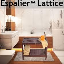 Teak Bathroom Furniture Decoteak Teak Shower Benches Bathroom Furniture Shower Chairs
