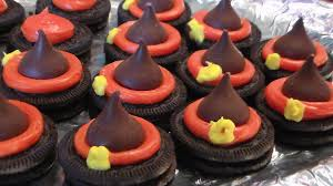 easy halloween treat kids can make witch hats youtube