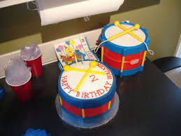 Little Tikes Drum Cake Cakecentral Com