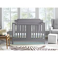Grey Convertible Crib by Dorel Morgan 2 In 1 Convertible Crib Gray