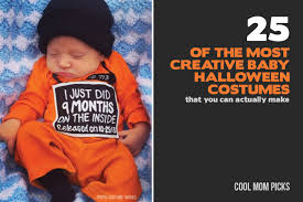 Cute Family Halloween Costume Ideas 25 Of The Most Adorably Creative Baby Costumes You Can Diy
