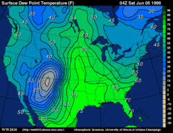 us dewpoint map dew point reports and contours