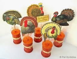 spool craft make your own vintage thanksgiving turkeys