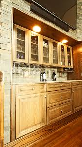 Oak Bar Cabinet Built In Storage And Cabinet Design Ideas Photos And Descriptions