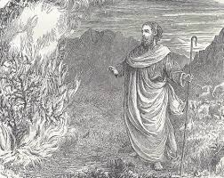 moses and the burning bush student handouts