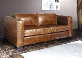 canap lit en cuir canape cuir habitat canape cuir vieilli convertible grand