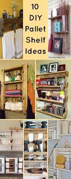 bathroom shelves ideas 10 diy wood pallet shelf ideas 1001 pallet ideas