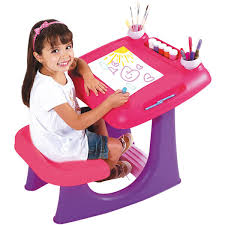 bureau plastique enfant catégorie tableaux bureaux pupitres kit craies et brosse