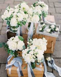 bridesmaid bouquets 64 white wedding bouquets martha stewart weddings