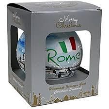 rome coliseum italy ornament porcelain 2 75