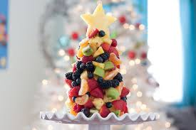 fruit christmas tree tasty kitchen blog