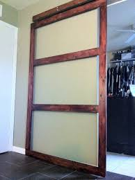 How To Make A Sliding Closet Door Diy Sliding Closet Doors Wide Buzzard